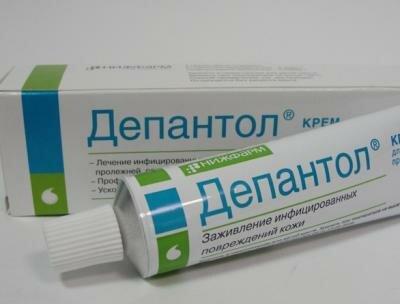 Депантенол крем