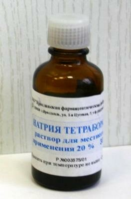 натрия тетрарборат