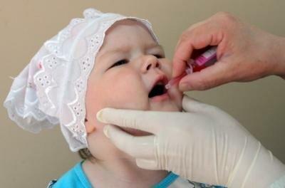 оральное введение вакцины о полиомиелита