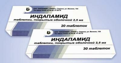отзывы о препарате Индапамид