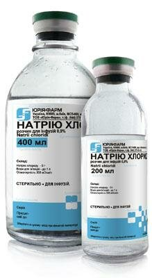 Натрия хлорид - назначение и противопоказания