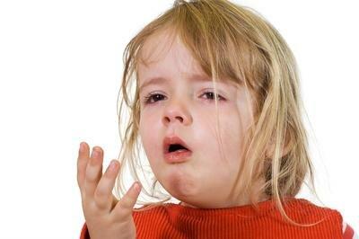 Долгий кашель у ребёнка