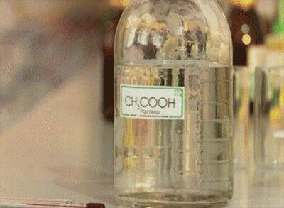 Отравление уксусной кислотой  - неотложная помощь и лечение