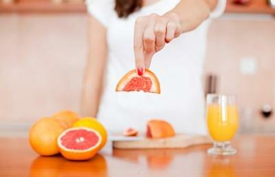 витамины и минеральные вещества в грейпфруте