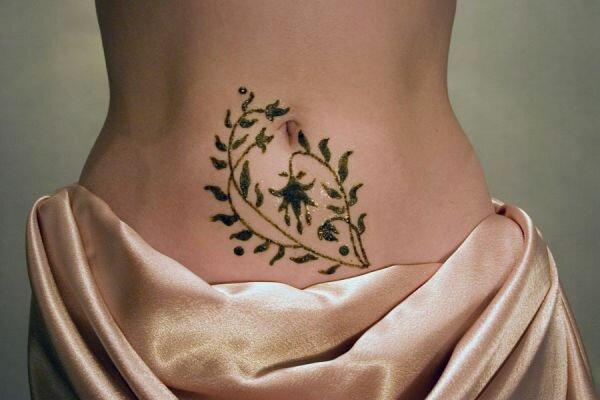 Временные татуировки хной гораздо