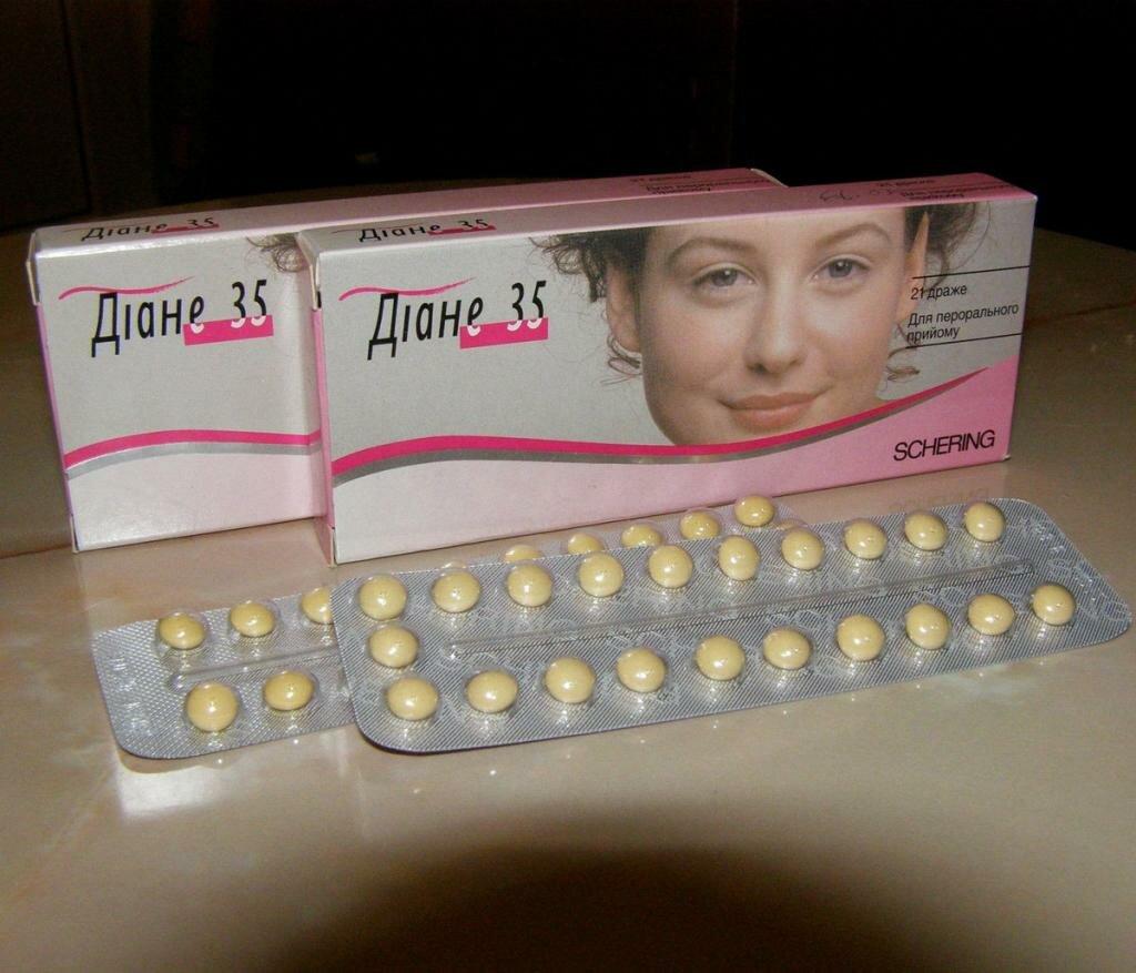 противозачаточные таблетки для похудения названия